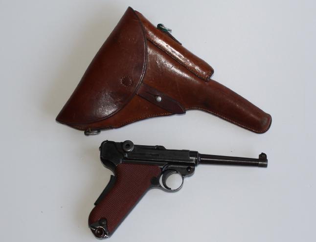 Pistolet d'ordonnance W+F 1929